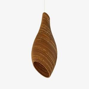 Graypants Závesná lampa Nest24, hnedá