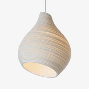 Graypants Závesná lampa Hive biela Ø 38cm