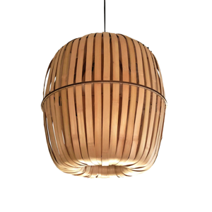 AY ILLUMINATE Závesná lampa Kiwi Bamboo médium
