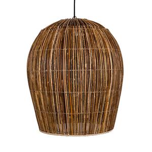 AY ILLUMINATE Závesná lampa Rattan Bulb small Ø 54cm prírodná