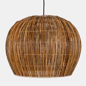 AY ILLUMINATE Závesná lampa Rattan Bell small Ø 63cm prírodná