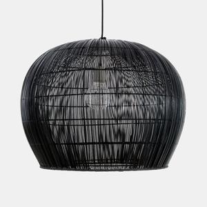 AY ILLUMINATE Závesná lampa Buri Bell small, Ø 63cm, čierna