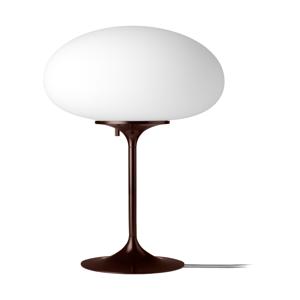 GUBI GUBI Stemlite stolná lampa čierno-červená 42cm