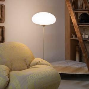 GUBI GUBI Stemlite stojaca lampa, sivá, 110cm
