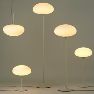 GUBI GUBI Stemlite stojaca lampa, sivá, 150cm