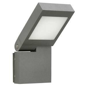 Albert Leuchten Nástenné LED svetlo 0111, otočná hlava, antracit