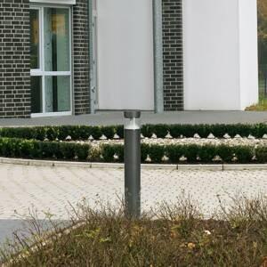 Albert Leuchten Chodníkové LED svietidlo 2275 antracit/číra