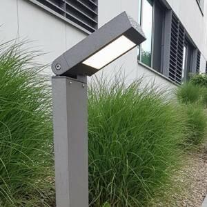 Albert Leuchten Chodníkové LED 2296 otočná konzola antracit