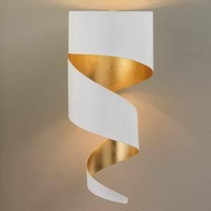 Gibas Nástenné svietidlo Remi bielo-zlaté