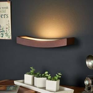 Gibas Nástenné LED svietidlo Dolce hrdzavý vzhľad, 30cm