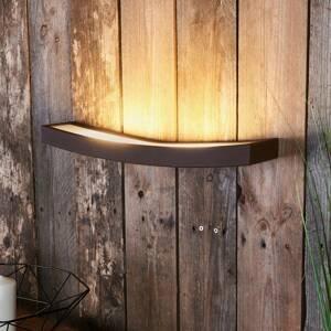 Gibas Nástenné LED svietidlo Dolce hrdzavý vzhľad, 50 cm