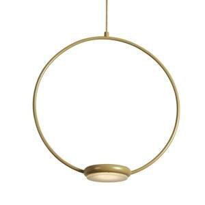 Gibas Zlaté závesné LED svietidlo Odigiotto