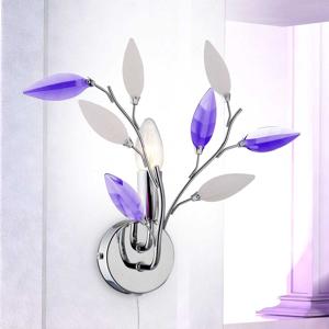 Globo Nástenné svietidlo Giulietta kvetinový vzhľad