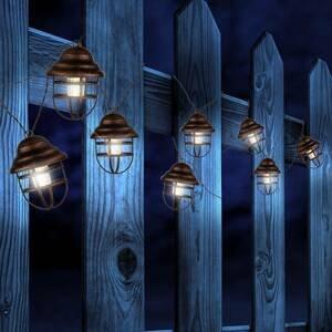 Globo Solárna svetelná reťaz Lina s 8 lucernami