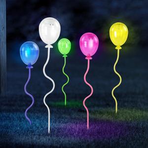 Globo LED svietidlo hrot do zeme 33909-5 Balóny farebné