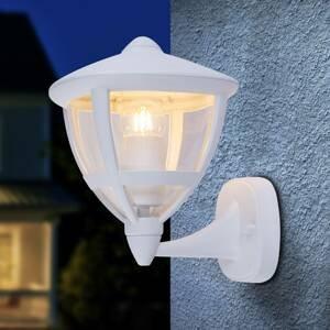 Globo Vonkajšie nástenné svetlo Nollo stojace IP44/biela