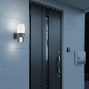 Globo LED vonkajšie osvetlenie Nexa, antracit/opál