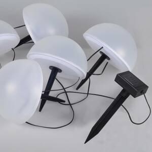 Globo Solárna svetelná LED reťaz 33980RGB, zmena farby