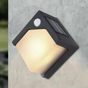 Globo Solárne nástenné LED svietidlo 36480 snímač pohybu