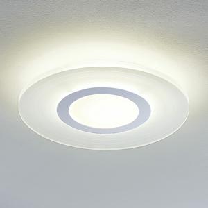 Lampenwelt.com Stropné LED svietidlo Misael okrúhle 4000K