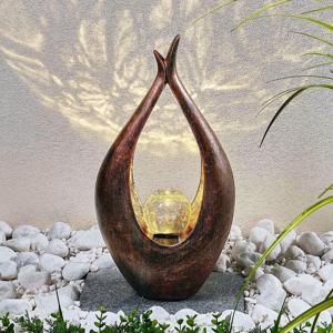Lindby LED solárne dekoračné svetlo Adem etno štýl 50 cm