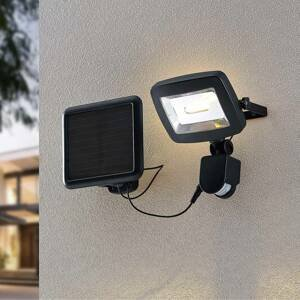Lindby Lindby Cathal solárne nástenné LED s panelom