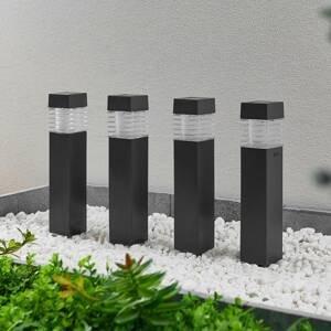 Lindby Lindby Fanney solárny LED hrot do zeme súprava 4