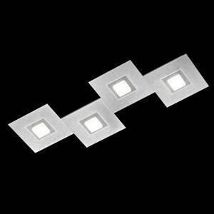 GROSSMANN GROSSMANN Karree stropná lampa 4sv. 80x30cm titán