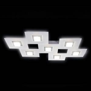 GROSSMANN GROSSMANN Karree stropné LED svietidlo 7-pl. titán
