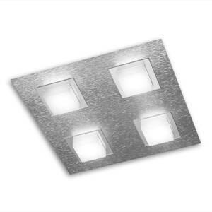 GROSSMANN GROSSMANN Basic stropné LED svietidlo 4-pl. hliník