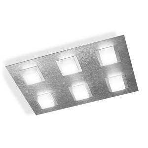GROSSMANN GROSSMANN Basic stropné LED svietidlo 6-pl. hliník