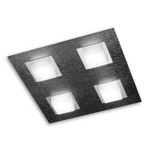 GROSSMANN GROSSMANN Basic nástenné LED svetlo 4-pl. antracit