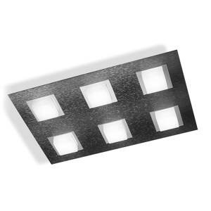 GROSSMANN GROSSMANN Basic stropné LED svetlo 6-pl. antracit