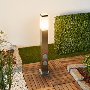 G & L HANDELS GMBH Chodníkové LED svietidlo 400166 oceľ, 2 zásuvky