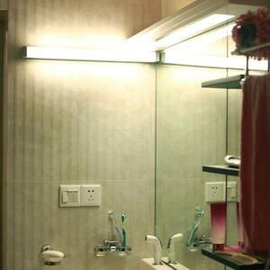 G & L HANDELS GMBH Zrkadlové LED svietidlo 512 4000K 35cm striebro