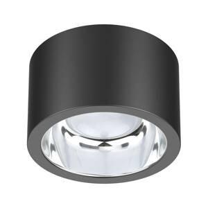 EVN Stropné LED svietidlo ALG54, Ø 12,9cm antracitová