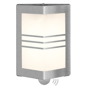Heibi Nástenné svietidlo MEDI s detektorom pohybu