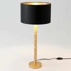 J. Holländer Stolná lampa Cancelliere Rotonda čierna/zlatá 57