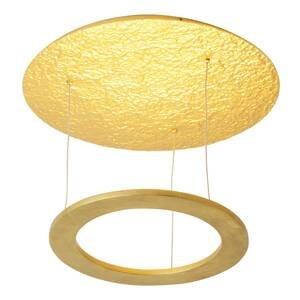 J. Holländer Stropné LED svietidlo Venere, zlaté
