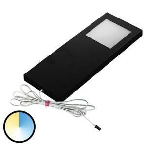 HERA Podhľadové svetlo Dynamic LED SlimPad F 1ks čierne