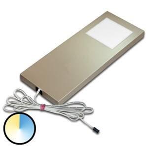 HERA Dynamic LED Slim-Pad F podhľadové svetlo oceľ