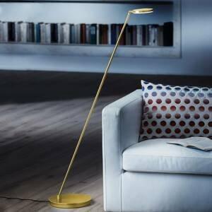 Holtkötter Holtkötter Plano S – stojaca LED lampa, mosadz