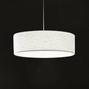 Holtkötter Holtkötter Vita P – biela závesná lampa 60cm