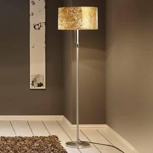 Hufnagel Stojaca lampa Alea Loop povlak lístkového zlata