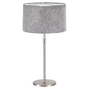 Hufnagel Loop – stolná lampa plstené tienidlo svetlosivá