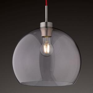 Hufnagel Sklenená závesná lampa Clear, 30cm