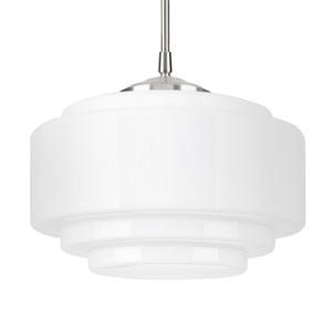Hight Light B.V. Závesná lampa Cambridge, nastaviteľná výška, biela