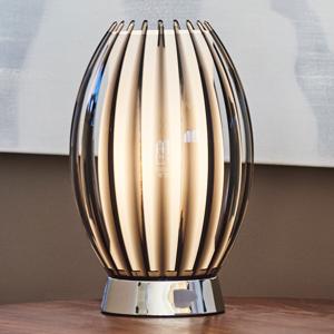 Herstal Stolná lampa Tentacle, dymová sivá vysoká 34cm