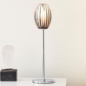 Herstal Stolná lampa Tentacle s chrómovým rámom 50cm