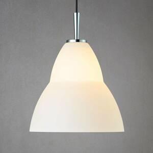 Herstal Sklenená závesná lampa Fico L, Ø 35cm